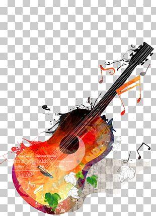 Guitar Music PNG
