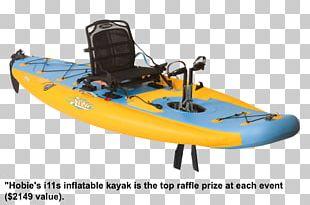 Kayak Fishing Hobie Cat Boat Inflatable PNG