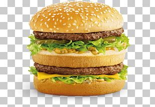 McDonald's Big Mac Hamburger McDonald's Chicken McNuggets McChicken McDonald's Quarter Pounder PNG