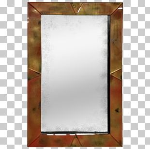 Mirror Glass Decorative Arts Antique Furniture Rectangle PNG