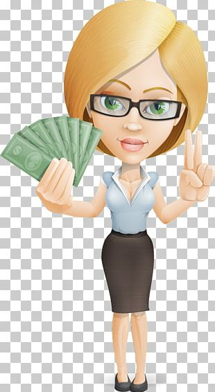 Businessperson Cartoon Woman PNG