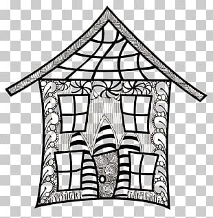 Doodle House Drawing PNG