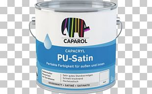Polyurethane Satin Acrylic Paint Pigment PNG