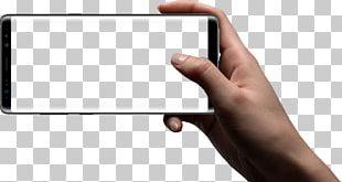 Samsung Galaxy Note 8 Mockup Smartphone Camera PNG