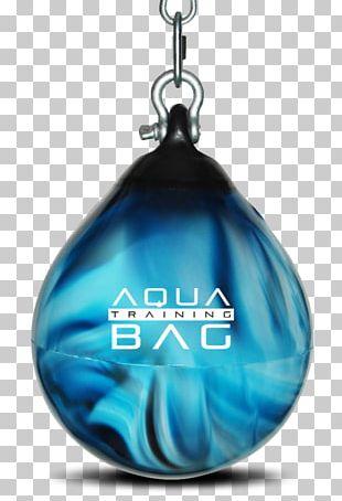 "Punching & Training Bags Aqua Punching Bag Boxing Aqua Energy 15"" Training Bag PNG"
