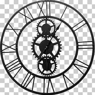 Wall Clocks Clock Face House Doctor Couture Wall Clock Utopia Alley Roman Round Clock PNG