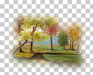 Watercolor Painting Landscape Desktop Adobe Photoshop PNG