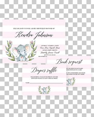 Wedding Invitation Baby Shower Infant Boy PNG