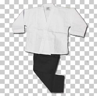 Karate Gi Martial Arts Sleeve Cotton PNG