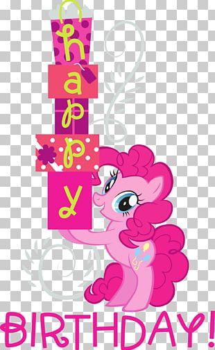 Pinkie Pie Pony Wedding Invitation Rainbow Dash Birthday PNG