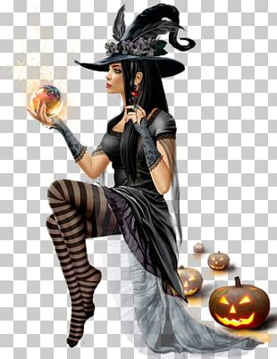 Witchcraft Ghost Halloween PNG