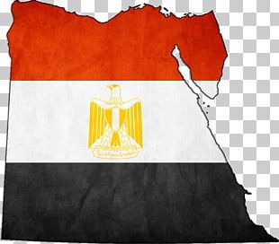 Flag Of Egypt Map Stock Photography PNG