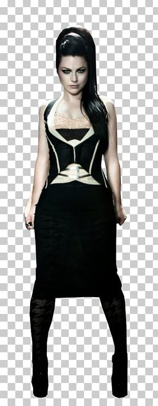 Amy Lee Little Black Dress Evanescence Fashion Photo Shoot PNG