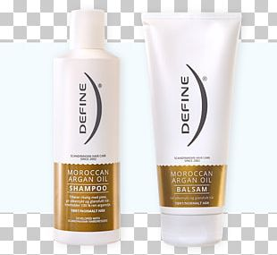 Lotion Argan Oil Define Hair Shampoo PNG