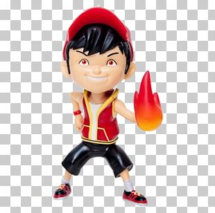 Ochobot Action & Toy Figures BoBoiBoy Galaxy Run: Fight Aliens To Defend Earth! Figurine PNG