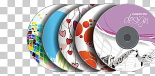 Compact Disc Optical Disc Packaging Template Cover Art PNG