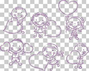 Stick Figure Children PNG