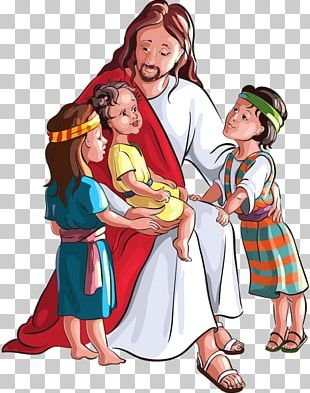 Child Bible Depiction Of Jesus PNG