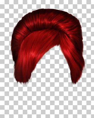 Short Red Women Hair PNG