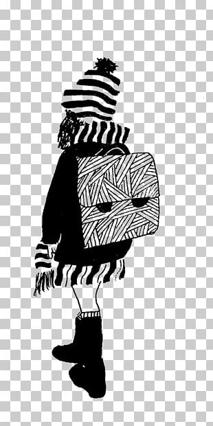 Black And White Drawing Art Illustration PNG