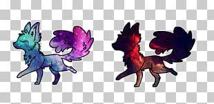 Gray Wolf Horse Animal Galaxy Werewolf PNG