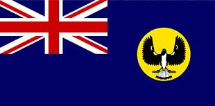 Flag Of South Australia State Flag Flag Of Australia PNG