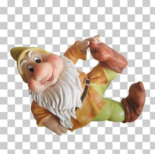 Garden Gnome Figurine Finger PNG