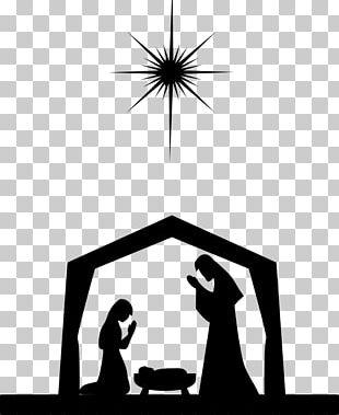 Nativity Scene Nativity Of Jesus Manger Christmas PNG