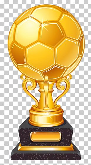 Trophy Football Player PNG