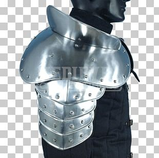 Middle Ages Plate Armour Pauldron Shoulder PNG