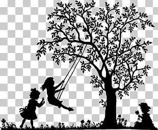 Silhouette Child PNG