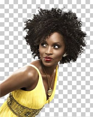Girl with afro png