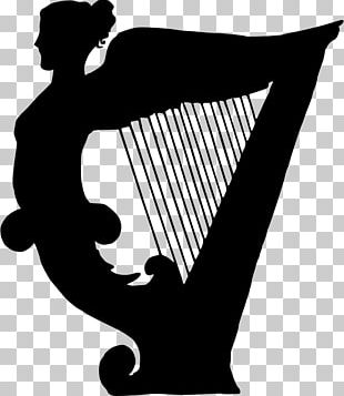 Celtic Harp String Instruments Musical Instruments PNG