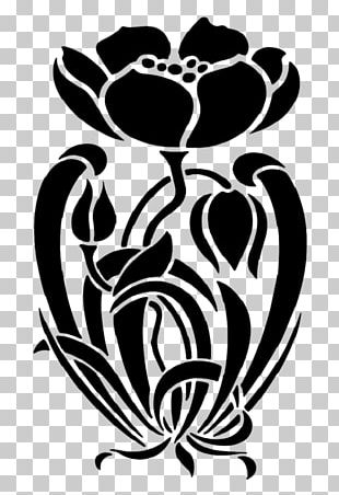 Stencil Designs Art Deco Art Nouveau PNG