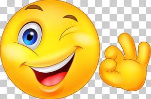 Emoticon Smiley OK PNG