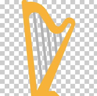 Scalable Graphics Harp Musical Instrument Icon PNG