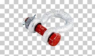 Shackle Swivel Bolt Rigging Working Load Limit PNG