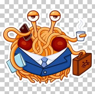 Sticker Pastafarianism Telegram Monster PNG
