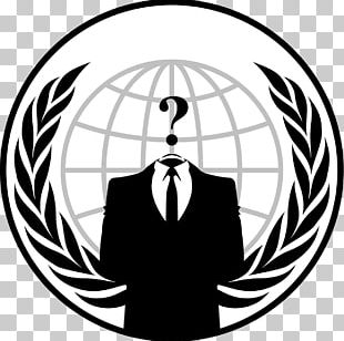 Anonymous Logo Hacktivism PNG