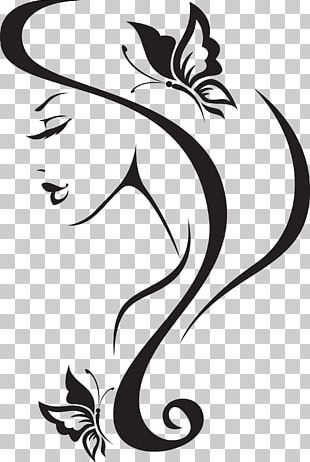 Beauty Parlour Wall Decal Barbershop Hairdresser PNG