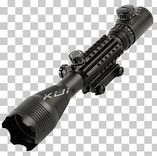 Airsoft Gun Sniper Rifle Telescopic Sight PNG