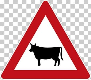 Dog Cattle Mammal Traffic Sign Common Warthog PNG