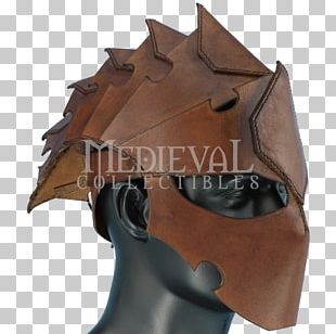 Leather Helmet Leather Helmet Live Action Role-playing Game Armour PNG