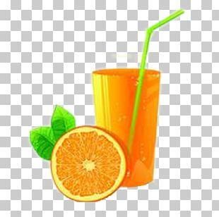 Orange Juice Orange Drink Orange Soft Drink Non-alcoholic Drink PNG