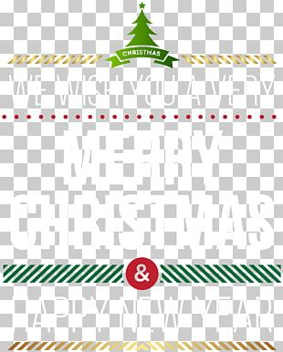 Christmas Typeface PNG