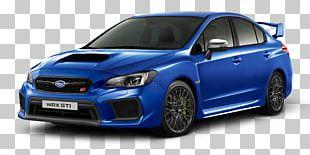 Subaru Impreza WRX STI Sports Car 2018 Subaru WRX STI PNG