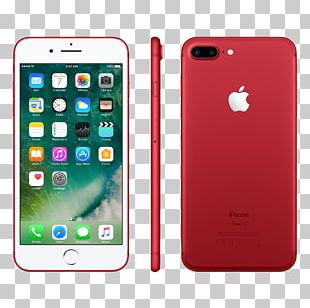 Apple IPhone 7 Telephone Product Red PNG