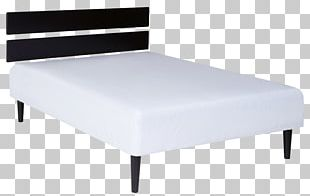 Bed Frame Mattress Bedside Tables PNG