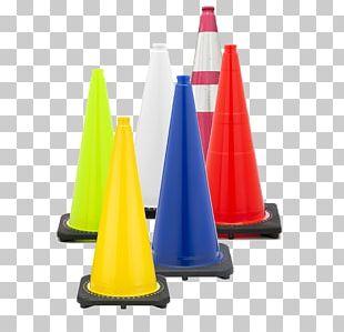 Traffic Cone Yellow Orange PNG