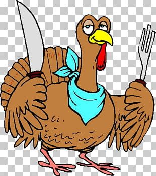 Turkey Meat Thanksgiving Cartoon PNG